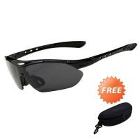 Kacamata Sepeda dan Motor Berkendara Olahraga Outdoor Free Hardcase