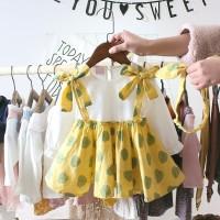 Dress Bayi-Anak Perempuan Lengan Panjang Style Korea