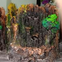 SALE Tebing Air Terjun Mini Aquarium Aquascape 20cm BONUS Pasir Silika