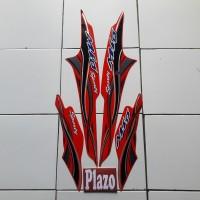 Striping Motor Mio Sporty 2005 Merah
