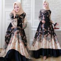 Baju Gamis Wanita Dewasa Muslim Syari Muslimah Cewek Murah Terbaru