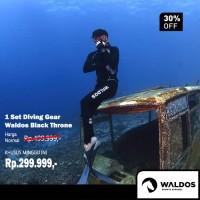 PROMO !! 1 Set Diving Gear Waldos Black Throne
