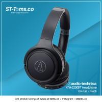 MURAH !!! Audio Technica ATH S200BT / S200 BT Headphone On-Ear - Black