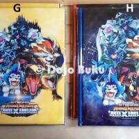 Terpupoler Buku Album Kartu Animal Kaiser 144 Kartu Ukuran Besar 23 X