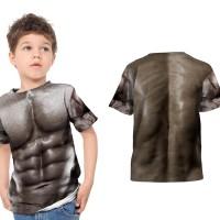 kaos baju tshirt anak badan sixpack fullprint sublimation