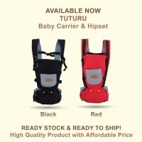 Gendongan Bayi Depan Hipseat / Baby Carrier / Hipseat Bayi Tuturu