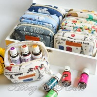 Pouch Oil Handmade 6 Slot by Abbey & Roche