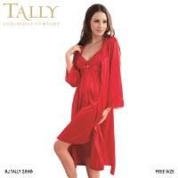 TALLY Bj 2898 Baju tidur kimono Satin Lingerie Seksi