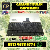 Keyboard Acer Aspire one AO751 721 722 751H AO721 AO722 HITAM