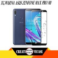 Tempered Glass Asus Zenfone Max Pro M1 Anti Gores Kaca Warna Hitam