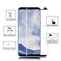 TEMPERED GLASS WARNA SAMSUNG NOTE 9 ANTI GORES KACA FULL COVER NOTE9