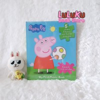 Buku Jigsaw Puzzle Anak - Peppa pig my First Puzzle Book isi 5