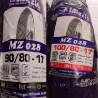 Ban Motor Mizzle Paket 90/80-17 dan 100/80-17 MZ028 Tubetype