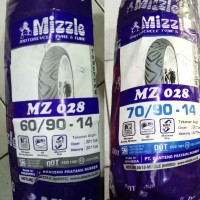 Ban Motor Mizzle Paket 60-90-14 Dan 70-90-14 MZ028 Tubetype