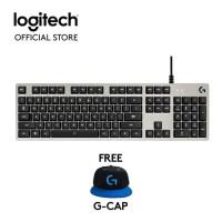gaming/Logitech G413 Mechanical Backlit Gaming Keyboard - Silver FREE