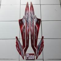 Stiker Motor Mio Sporty 2009 Merah