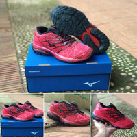 Sepatu Volly Mizuno Propechy Red Black Premium High Quality