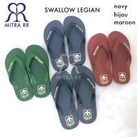 Sandal Jepit SWALLOW LEGIAN Sendal Swalow Karet Pria Wanita Asli
