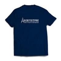 Kaos Profesi Arsitek Quotes HItam - Architect T-shirt (Civil Engineer)