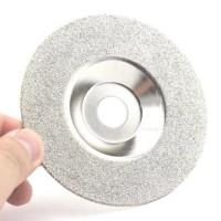 Mata Diamond Putih Mangkok 100mm 4 Batu Gerinda Grinding Disc Wheel
