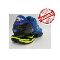 Sepatu Volly Mizuno Wave Prophecy 6 Blue Yellow