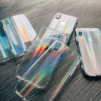 Case Hologram Rainbow For Vivo Y91 Y93 Y95 Fuze Softcase Hologram