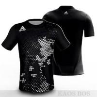 Kaos Jersey Adidas Running Baju Olahraga Sports DriFit Full Print