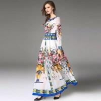 premium baju fashion maxi long dress kaftan muslim gamis sari india