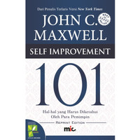 Self Improvement 101 (HC) . John C. Maxwell
