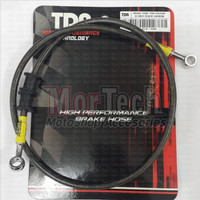 Selang Slang Kabel Minyak Rem Motor TDR 35 inch 90cm Hitam Carbon