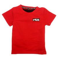 Baju Anak Setelan Muyouguo Fila Red 06140011