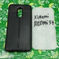 Silikon karet hitam capdase xiaomi redmi 5 plus 5+ murah meriah