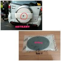 Base Emblem/Cover Tutup Kunci Ban Serap/Rush Original Toyota