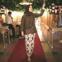 Kebaya Lurik Wanita/Baju Adat Jawa/Baju Khas Solo Jogja/Setelan