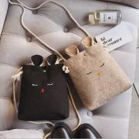 Tas selempang kelinci Korea cute Rabbit Mini sling bag BTA339