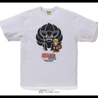 Sale Bape X Naruto Tshirt (Kaos Authentic/ Original) Kualitas Premium