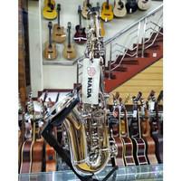 Cavalier VCH-350 Nickel Baby Saxophone