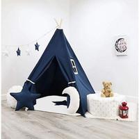 Tenda Teepee Tent Indian Anak Plus Matras - TPT 002