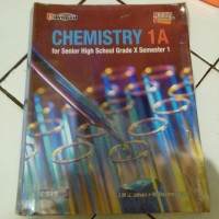 buku kimia/chemistry bekas untuk SMA kelas X bilingual