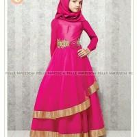 Busana Muslimah Baju India Anak Gamis Gaun Anak Belle Maisson Pink