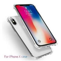 Anticrack Iphone X XS Silikon Case Jelly Bening Lembut Transparan