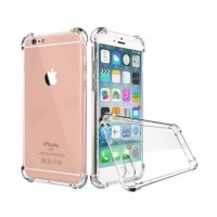 Anticrack Iphone 6 6S Plus Silikon Case Jelly Bening Lembut Transparan