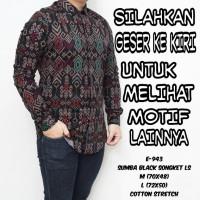 Baju Kemeja Pria Songket Batik Hijau Tosca Keren Gaya Trendy