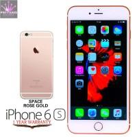 APPLE IPHONE 6S 64GB ROSEGOLD FU GSM ORIGINAL GARANSI PLATINUM 1 TAHUN