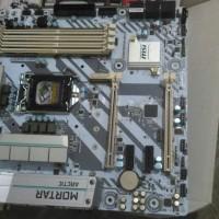 msi b250m mortar dan processor i5 6600k
