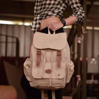 Tas Ransel Backpack Laptop Kanvas Pria Wanita - Divinces Arin