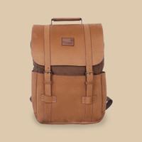 Tas Ransel Backpack Kanvas Laptop Pria Wanita - Divinces Chameleon