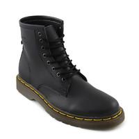 Sepatu Pria Docmart Dokmart Dr.Martens Boots 8 Hole Hitam