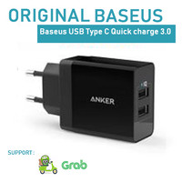 Anker PowerPort 2 Dual USB Wall Charger Black ( NOT AUKEY, SAMSUNG )