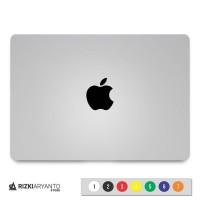 Sticker - Stiker Logo Apple Black untuk PC Laptop HP dll